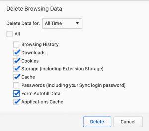 Vivaldi - Delete Large Cache File on macOS